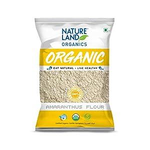 Natureland Organics Amaranthus Flour (Rajgira Flour) 500 Gm – Gluten Free Amaranth Flour