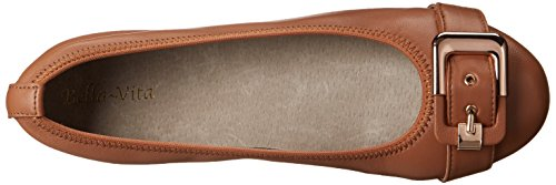 Bella Vita Women's Twirl Ballet Flat Tan Leather discount release dates Hb8NI