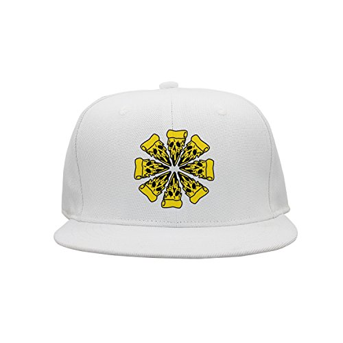 w4a4zp57uq4 Unisex Pizza Planet-Skull Pizza Near Me Pizza Delivery Baseball Cap Travesty Outdoor Sport Cap