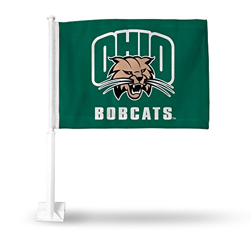 - Rico Industries NCAA Ohio Bobcats Car Flag