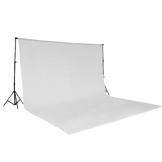 84 opinioni per KIT FONDALE STUDIO FOTOGRAFICO SFONDO BIANCO 3X6M SCENARIO PROFESSIONALE bianco