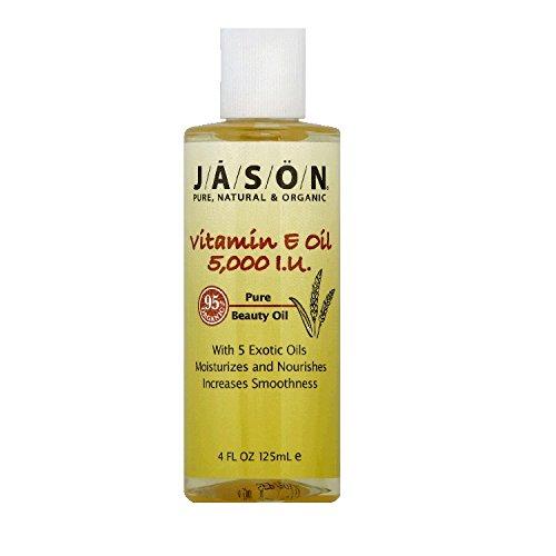 Джейсон натуральных продуктов Vit E Oil 5000 МЕ 4 унции