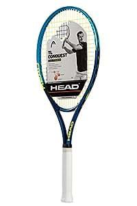 HEAD Ti.Conquest Tennis Racquet, Strung, 4 1/2 Inch Grip