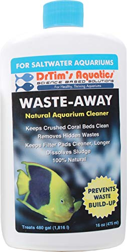 DR. TIM'S AQUATICS LLC. Waste-Away Saltwater Aquarium Solution 16 Ounce from DR. TIM'S AQUATICS LLC.