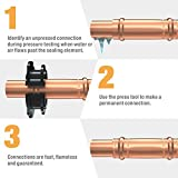 IWISS IWS-1632AF Plumbing Copper Pipe Crimper Press