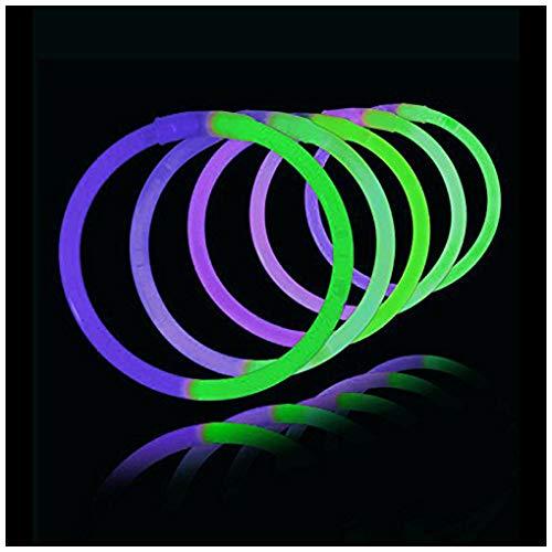 Lumistick 8 Inch Glow Sticks - Bendable Glow