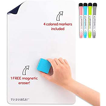 Amazon.com : To Doodles   Magnetic dry erase white board