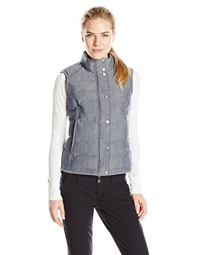 - Spyder Women's Vyvyd Synthetic Down Vest, Sagan Tweed Fabric, X-Small