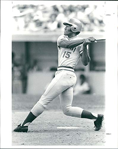 Vintage Photos 1982 Press Photo Sports George Foster Cincinnati Reds Baseball Solomon -