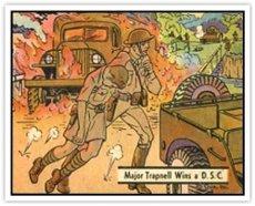 1941 Gum Inc R164 War Gum (Non-Sports) card#35 Major Trapnell Wins DSC of the Grade Fair/Poor from Gum Inc