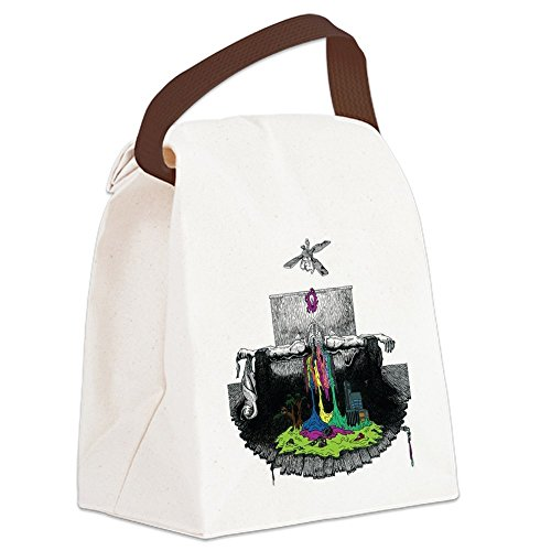 CafePress - Twenty One Pilots Self-Titled Alb - Canvas Lunch Bag with Strap Handle
