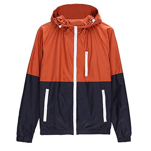 Preferential New Zlolia Mens Casual Jacket Outdoor Sportswear Windbreaker Lightweight Bomber Jackets Outwear