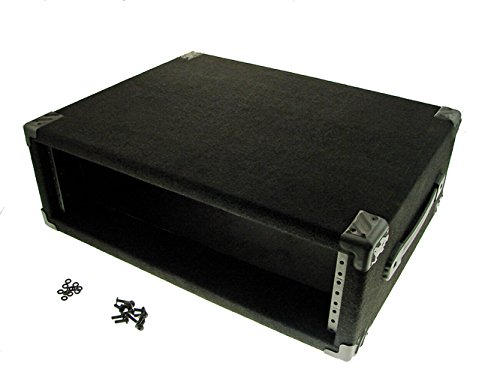 Procraft 3U 16'' Deep Equipment Rack 3 Space - Made in the USA - With Rack Screws