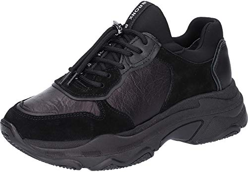 Baisley Nero Bronx Cuoio Sneaker Donna Black Chunky q6P1FxZ