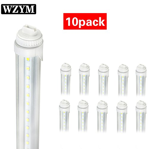 WYZM R17D 4FT 20W F48T12/CW/HO Straight T12 Fluorescent LED Tube Light Bulb for Vending Cooler Freezer Replacement Bulb (10-Pack 5500k) by WYZM (Image #9)