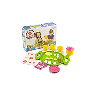 Funskool Activity Kit: Tea Party Pretend Play Role Play Set | Reusable Activity Kits | Gifts for Boys and Girls 3, 4, 5, 6,7,8 Years: Toys & Games