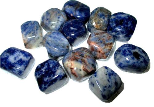 - Jet Wow Sodalite Tumbled Stone 100 grams 1 Approx. 0.75