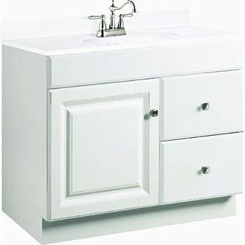 Everyday Cabinets Inch Bathroom Vanity Single Sink Cabinet In - Bathroom vanities 30 inch wide for bathroom decor ideas