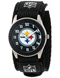 Game Time Youth NFL-ROB-PIT Rookie Pittsburgh Steelers Rookie Black Series Watch