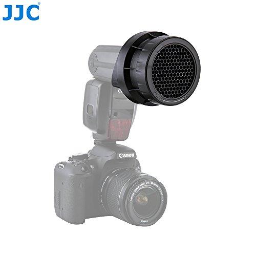 Spot Grid - JJC Adjustable 3-in-1 Stacking Honeycomb Grid Light Modifier System for Camera Flash Canon 600EX-II RT Speedlite