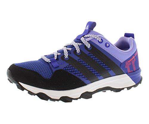 adidas Performance Women's Kanadia 7 TR W Trail Running Shoe, Night Flash/Core Black/Light Flash Purple, 10 M US (Adidas Kanadia Tr5)