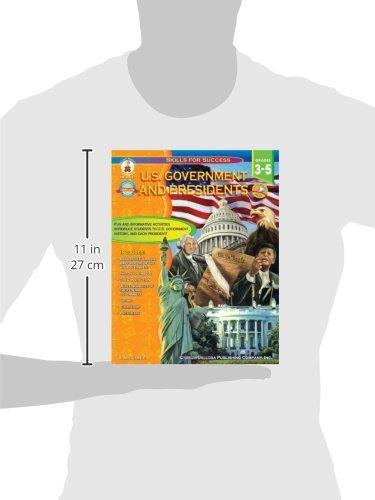 Amazon.com: U.S. Government and Presidents, Grades 3 - 5 (Skills ...