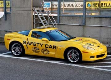 Digital Chevy Corvette Safety Car