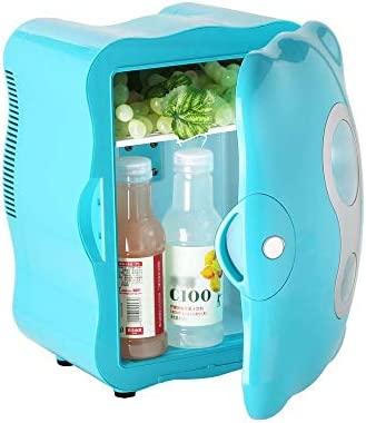 HNFYJQ Mini refrigerador para Autos, refrigerador eléctrico frío y ...