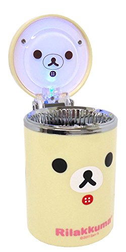 Ash tray for car ashtray Korilakkuma face car accessories [Toy] (japan import) by Unknown