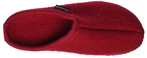 Haflinger Alaska 611001 - Zapatillas de casa de tela unisex Ziegelrot