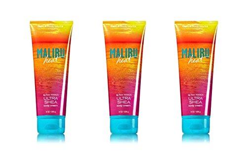 Bath & Body Works Malibu Heat Ultra Shea Body Cream - Lot of 3