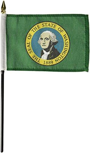 Us Flag Store Washington Flag, 4 by 6-Inch