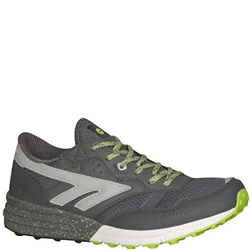 Hi-Tec Men's Badwater Trail Runner, Citadel/Limon Cello/Silver, 9 D US ()