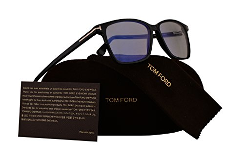 Tom Ford FT5478-B Eyeglasses 55-14-145 Shiny Black w/Demo Clear Lens 001 TF5478-B FT 5478-B FT5478 TF5478 TF - Ford Tom Sale