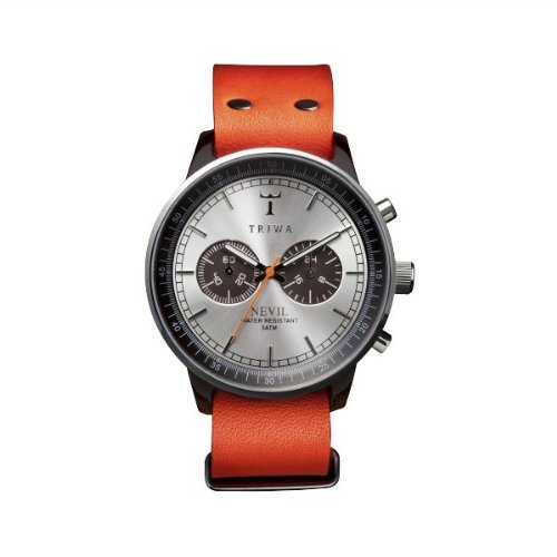 triwa-nevil-leather-band-wrist-watch-havana-orange