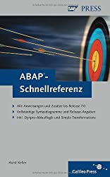ABAP-Schnellreferenz (SAP PRESS)