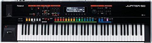 Roland JUPITER-50 Synthesizer BONUS PAK w/ Sustain Pedal & H