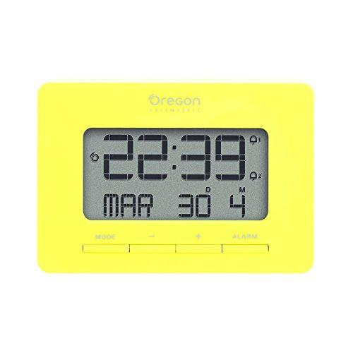 Oregon Scientific RM938_Y RM938, Dual Alarm, Calendar, and Snooze Functions, Yellow