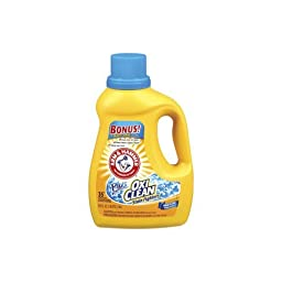 Arm & Hammer 84956 Liquid Laundry Detergent Plus OxiClean 35-Loads (Case of 6)