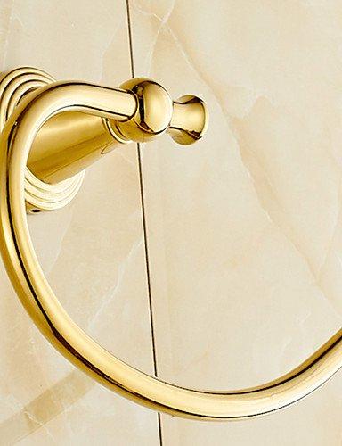 Toalla Anillos y anillas de toallas para baño & níquel cepillado toallero de anilla y bronce
