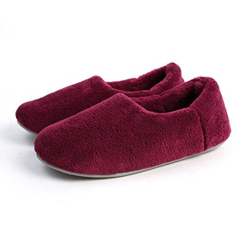 Antiscivolo Pantofole Con Donne Caldo Pattern 2 Di Scarpe A Casa Cotone Delle Fondo qfxR401q