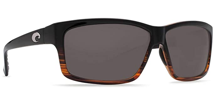 b94bd37105 Amazon.com  Costa del Mar Cut Polarized Rectangular Sunglasses ...