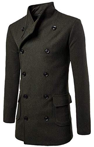 Manches Pois Kangqi À Vêtements Hommes De Longues Manteau Pour 1 nFwvRpwYq