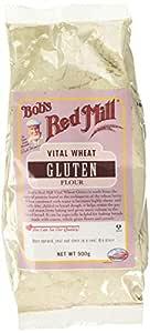 BOBS RED MILL Vital Wheat Gluten Flour, 500 GR