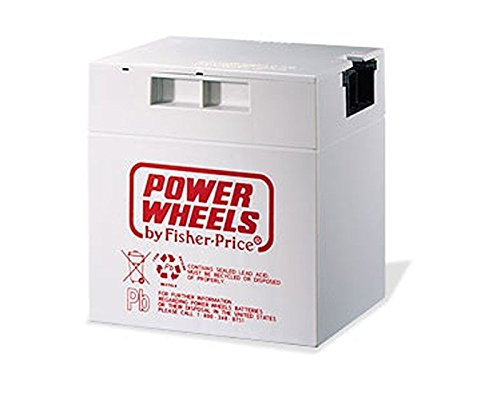 Fisher Price 00801-0638 Power Wheels Grey 12 Volt Rechargeable Battery Genuine