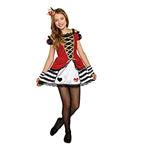kids queen of hearts costumes