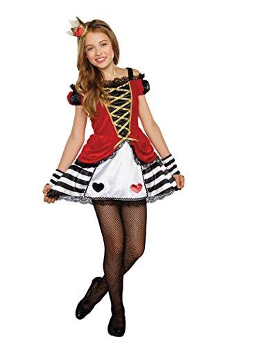 SugarSugar Tween Queen of Heartbreakers Costume, One Color, Large