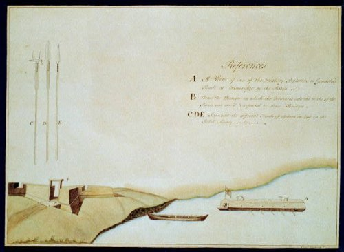 - HistoricalFindings Photo: Armaments of The American Rebels,Floating Batteries,Revolution,Army,c1777