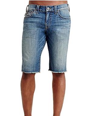Men's Ricky w/ Flap Jean Shorts in White Pine