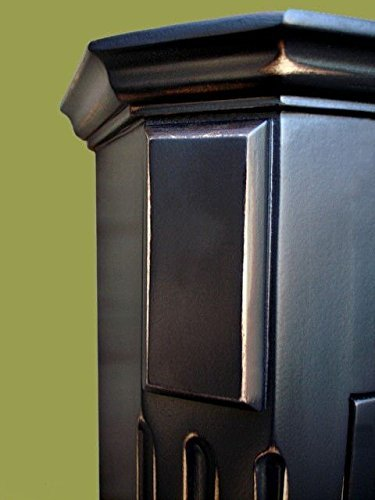 Ludwig Antique Black Medicine Cabinet / Surface Mount / Solid Wood & handcrafted. by D&E Wood Craft Cabinets (Image #4)